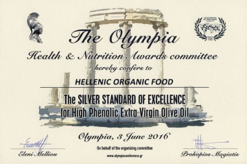 OLYMPIA - SILVER STANDARD OF EXCELLENCE