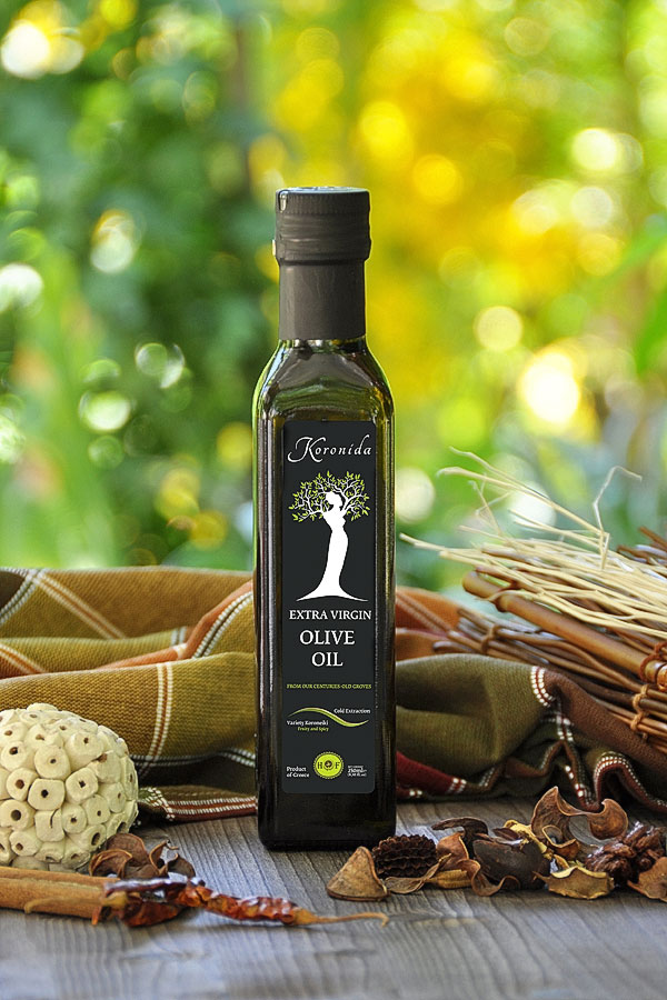 250 ml EXTRA VIRGIN OLIVE OIL <<KORONIDA>>