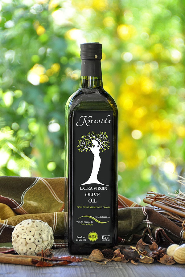 1L EXTRA VIRGIN OLIVE OIL <<KORONIDA>>
