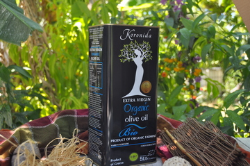 Gold medal in organic olive oil