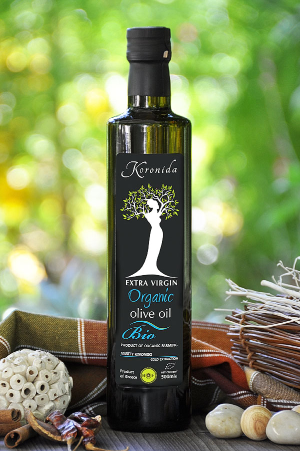 500ml ORGANIC- BIO  EXTRA VIRGIN OLIVE OIL