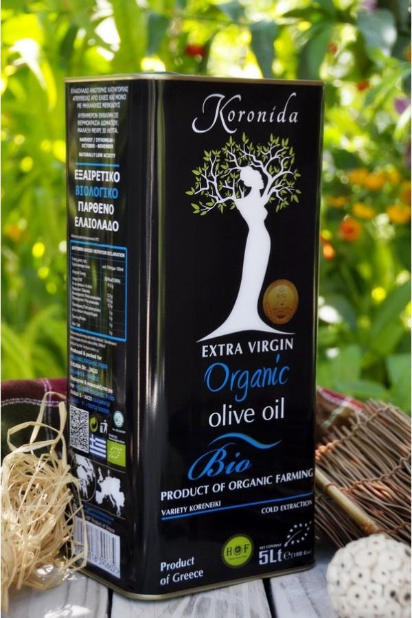 5Lt  ORGANIC- BIO  EXTRA VIRGIN OLIVE OIL