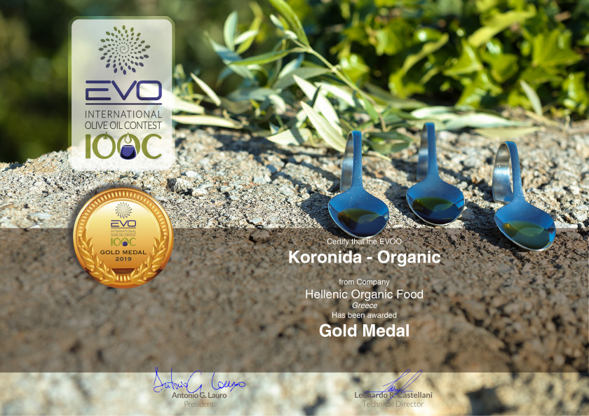 EVO INTERNATIONAL IOOC GOLD MEDAL